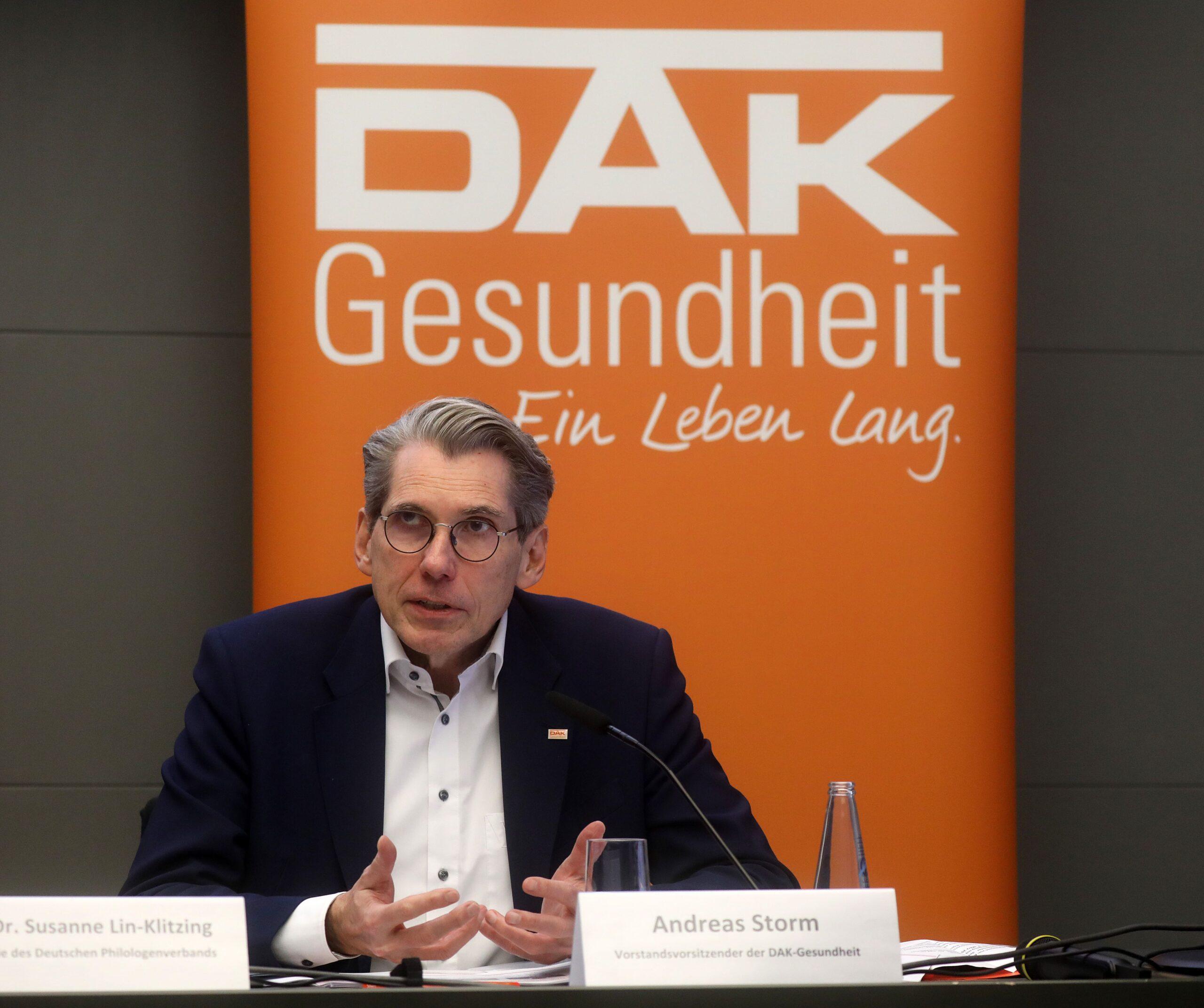 Andreas Storm Vorsitzender der DAK Gesundheit
