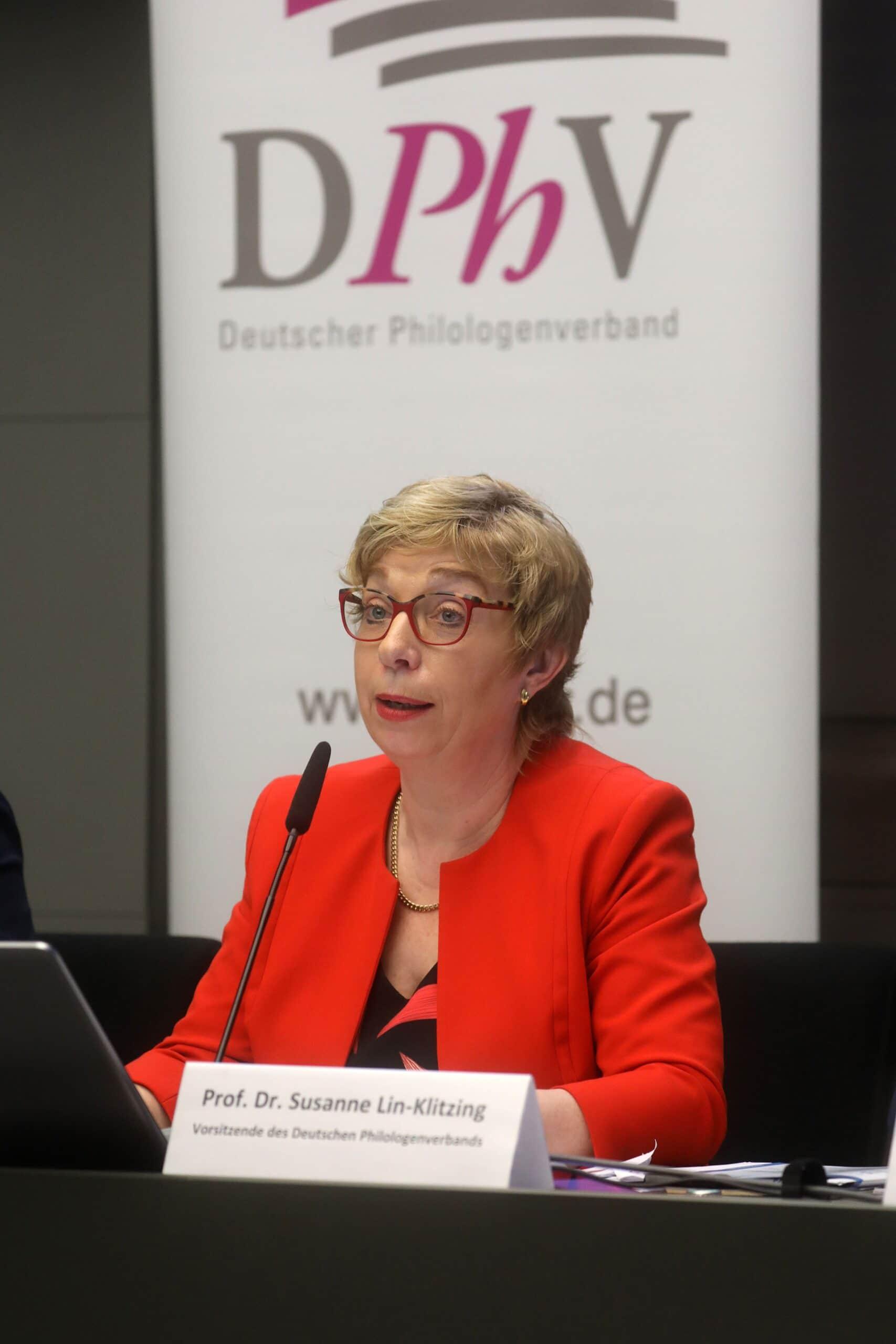 Prof. Dr. Susanne Lin-Klitzing vom DPhV
