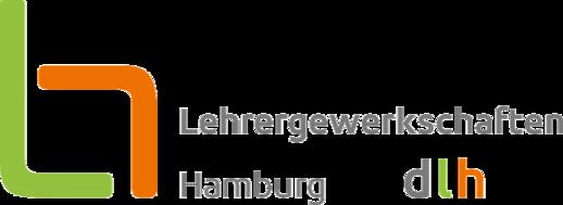 Logo Lehrergewerkschaften Hamburg dlh