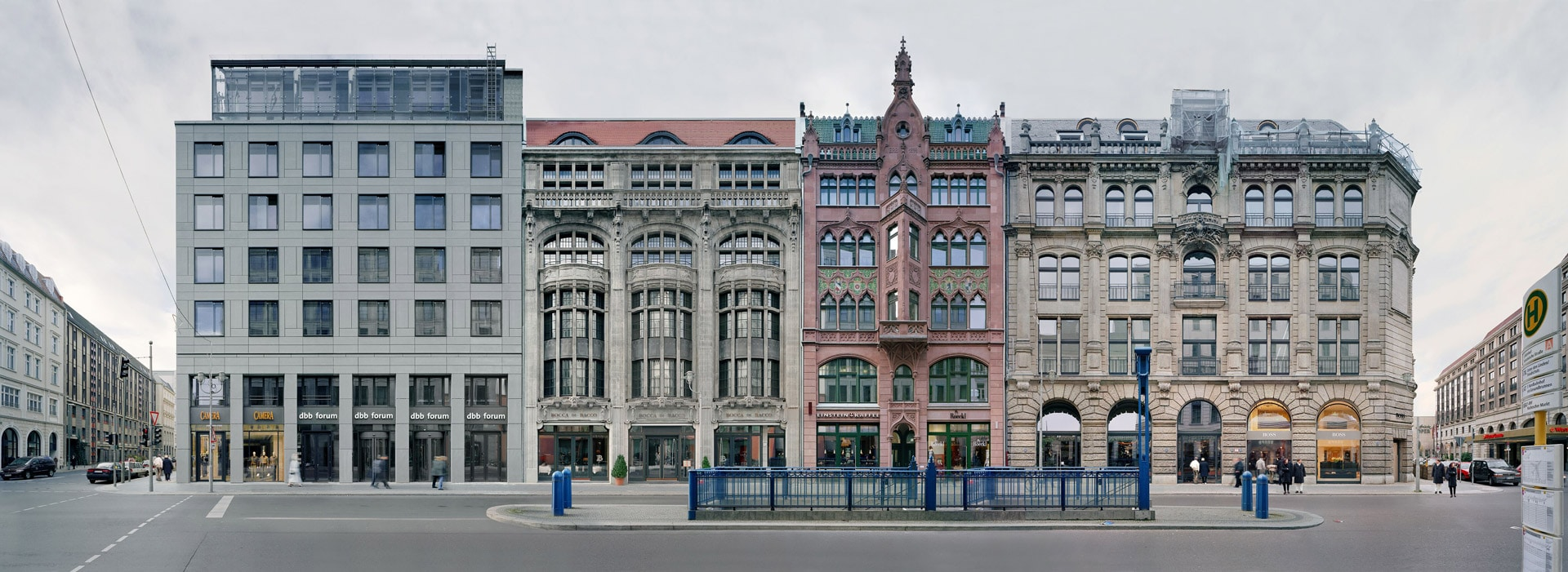 dbb Gebäude Ansicht Friedrichstraße