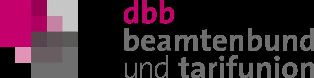 dbb beamtenbund und tarifunion Logo