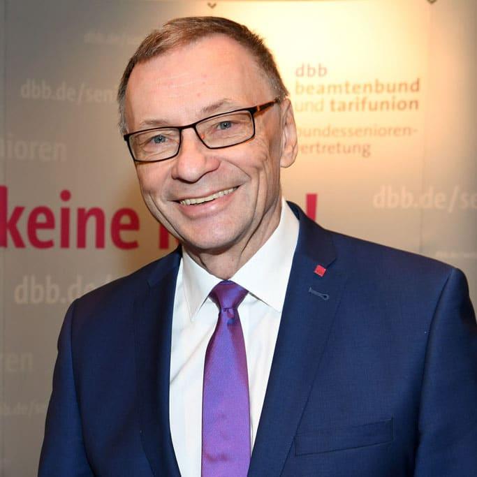 Kooptiertes Vorstandsmitglied des DPhV Dr. Horst Günther Klitzing (Arbeitsgemeinschaft Höherer Dienst (AhD))