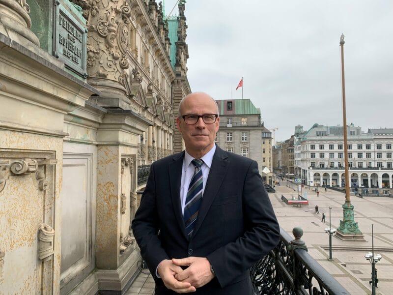 Ties Rabe Hamburgs Schulsenator